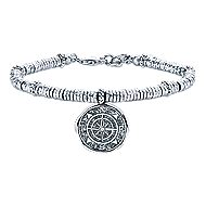 Silver-Stainless Steel Fashion Bracelet