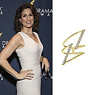 Actress Stephanie J. Block wore Gabriel & Co. to the Drama Desk Awards